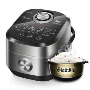 Midea/美的 MB-PFZ4003电饭煲智能变压多段IH电饭锅4L升钛金鼎釜2999元