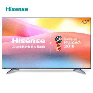Hisense 海信 LED43EC500U 43英寸 4K 液晶电视1699元