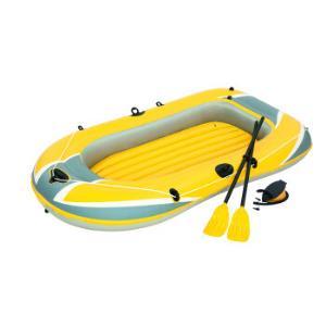 Bestway双人加厚充气船橡皮艇皮划艇皮筏艇气垫船自驾游装备(附赠船桨x2、充气泵x1)61083149元