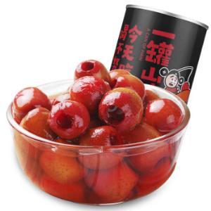 芝麻官 水果罐头 山楂罐头 425g/罐 休闲零食 32年老牌 *2件10.8元(合5.4元/件)