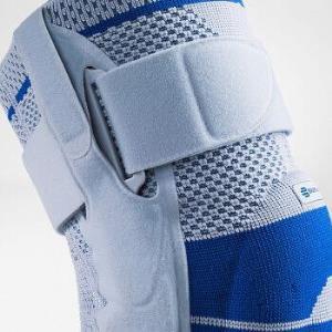 保而防(BAUERFEIND)GenuTrain S 康辅系列护膝 膝部侧支撑板固定型运动护具 钛灰色 左腿 4码+凑单品739.62元