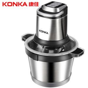 康佳(KONKA)绞肉机家用电动不锈钢多功能碎肉打肉切碎搅拌料理机不锈钢桶3L KMG-W3011198元