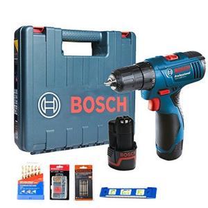 BOSCH 博世 TSR 1080-2-Li-2B 充电式电钻 锂电钻 起子机 电动螺丝刀 双电版 tsr1080套餐一269元