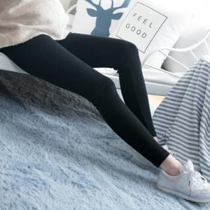 诺宜 孕妇装 孕妇低腰交叉托腹磨毛打底裤孕妇裤 N125030黑色L *3件137元(合45.67元/件)