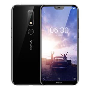 NOKIA 诺基亚 X6 智能手机 6GB 64GB 黑色1299元