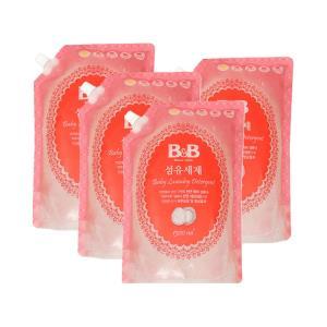 双11预售:保宁(B&B) 婴儿洗衣液 补充装 1300ml*4件 (需10元定金,11.11付尾款)94元包邮
