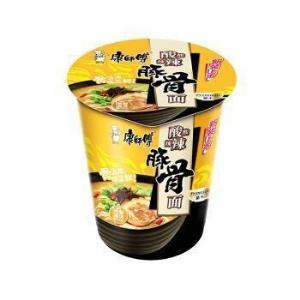 康师傅 方便面(KSF) 熬制高汤 酸酸辣辣豚骨面 泡面杯面 *21件50.8元(合2.42元/件)
