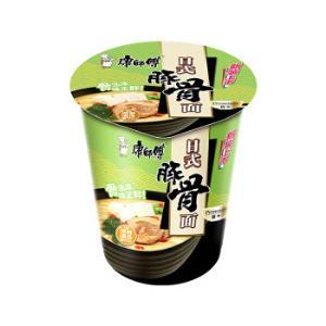 康师傅 熬制高汤 日式豚骨面 55g 单杯2.4元