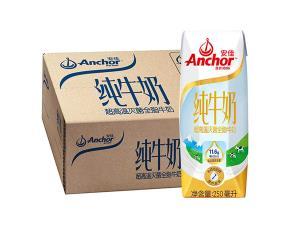 安佳全脂牛奶超高温灭菌UHT纯牛奶250ml*24整箱装 镇店之宝69元