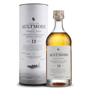 欧摩(AULTMORE)洋酒 威士忌 12年 斯贝塞 单一麦芽威士忌酒 700ml *3件996元(合332元/件)