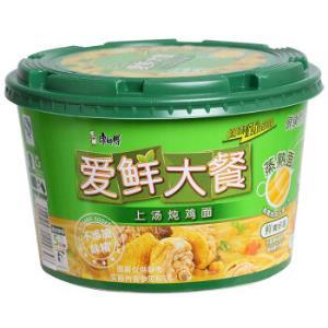 康师傅 方便面(KSF)爱鲜大餐 上汤炖鸡面  泡面碗装+凑单品4元