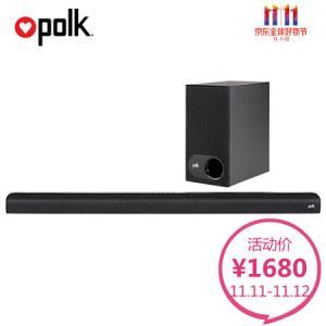 普乐之声Signa S2 音响 音箱 家庭影院5.1解码 HDMI电视音响 回音壁 条形音箱 无线低音炮套装 黑色1680元