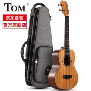 TOM尤克里里ukulele乌克丽丽夏威夷小吉他乐器 23英寸桃花芯全单TUC-200R2046元