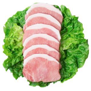双汇 带脂猪里脊肉片500g/袋 13元