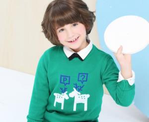 小猪班纳 圣诞元素 儿童毛衣*3 *3件 170.1元(合56.7元/件)