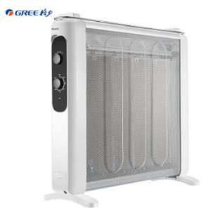 格力 (GREE)电热膜取暖器NDYN-X6021 电暖器/机械式 白色319元