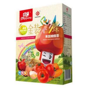 方广(FangGuang) 儿童金装彩蝶面 果蔬味 *6件 142元(合23.67元/件)