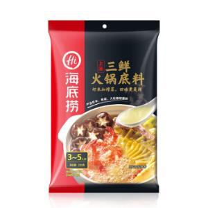 海底捞 上汤三鲜 火锅底料 200g 12.9元