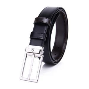 MONTBLANC 万宝龙 男士经典双面牛皮方形针式腰带 120cm1158元包邮(需用券)