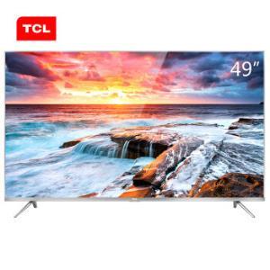 TCL 49A660U 49英寸4K液晶平板电视1899元