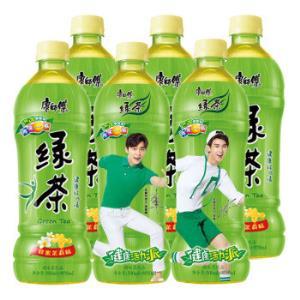 康师傅 绿茶 蜂蜜茉莉味 550ml 6瓶 *2件23.84元(合11.92元/件)