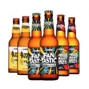 !龙精酿啤 IPA小麦啤酒 330ml*6瓶 领60元优惠券(折合6.65/瓶)    39.90包邮
