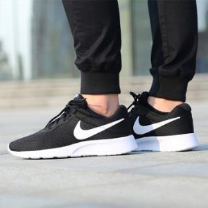网易考拉 Nike 耐克 Tanjun 黑白男女情侣款轻便休闲运动慢跑鞋 289元包邮