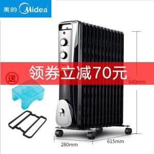 美的(Midea) NY2513-16J1W 电油汀取暖器  包邮券后309元