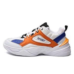 FOLOMI 高品质男鞋 老爹鞋白橙复古男鞋运动跑步鞋 篮球鞋 跑步鞋159元