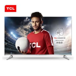 TCL 49A660U 49英寸 液晶平板电视(银)1899元