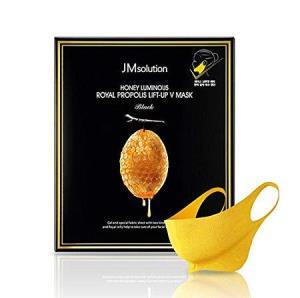 JMsolution 肌司研 水光蜂蜜V脸面膜 帮助提升下颚线 小脸神器 10片/盒 118元