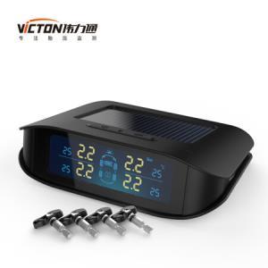 Victon 伟力通 胎压监测 T6S彩屏 太阳能无线内置 黑色359元