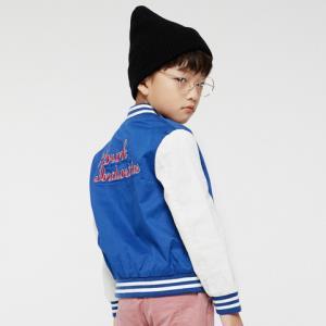 gxg kids X KRUNK熊童装2018春新款休闲男童棒球服夹克衫外套#A17121141 *3件283.9元(合94.63元/件)