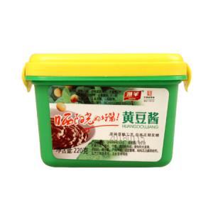 湖羊 Huyang 黄豆酱 调味酱豆瓣酱辣酱 调味料调料 220g 9.9元