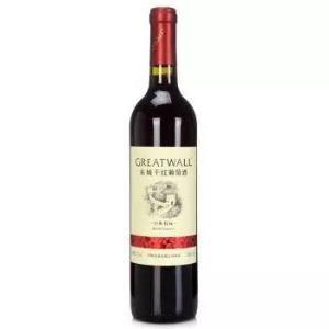 GREATWALL 长城葡萄酒 经典系列红标解百纳干红葡萄酒 750ml *3件 99元(合33元/件)
