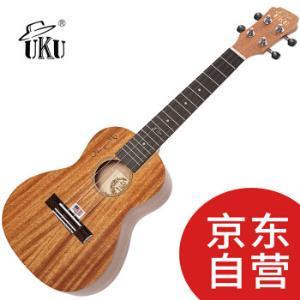 UKU尤克里里ukulele乌克丽丽23寸全桃花芯小吉他弹唱UK200C349元