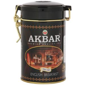 斯里兰卡进口 阿客巴(AKBAR)经典英国早餐红茶 100g 斯里兰卡进口 *2件 48元(合24元/件)