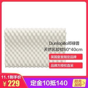 预售:Dunlopillo 邓禄普 榴莲颗粒护颈枕 199元