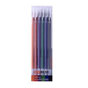至尚・创美 SCM VX5018 0.5mm全针管彩色笔 学生彩色中性笔/水笔/绘画水笔/手帐笔 6支装 *5件15元(合3元/件)