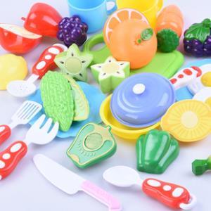 24件套儿童过家家切水果蔬菜切切乐玩具 券后¥13.8