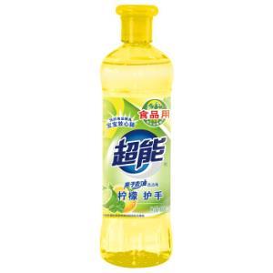 超能 离子去油洗洁精 柠檬护手 500g