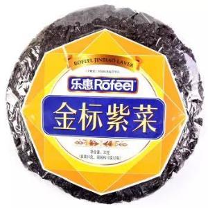乐惠 金标紫菜 30g *5件17元(合3.4元/件)