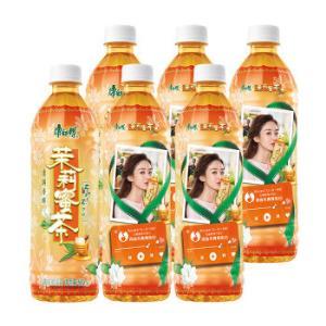 康师傅 茉莉蜜茶 茶饮料 500ml*6瓶 整箱装(新老包装自然发货)12.9元