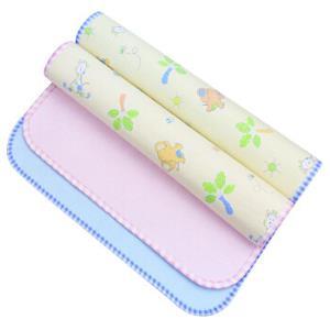 象宝宝(elepbaby)婴幼儿尿垫 竹纤维三层加厚防水隔尿垫小号50X37CM(粉色2条装) *2件 29元(合14.5元/件)