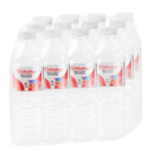 娃哈哈 纯净水饮用水 596ml*12瓶 塑包(新老包装随机发货)13.8元