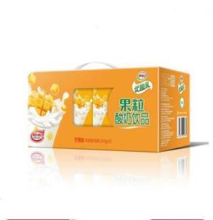 伊利 优酸乳果粒酸奶饮品芒果味245g*12盒 *2件34.81元(合17.41元/件)