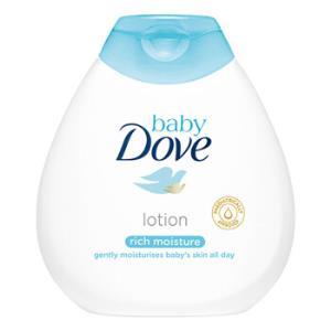 Dove 多芬 婴儿倍护滋润润肤乳 200ml *3件122元(合40.67元/件)