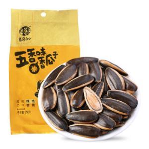 华味亨 五香味香瓜子260g/袋 坚果 休闲食品 零食 *17件80.6元(合4.74元/件)