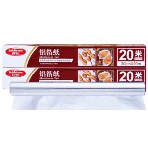 百钻铝箔纸 烤箱用加厚锡纸 20m *6件 +凑单品30.24元(合5.04元/件)