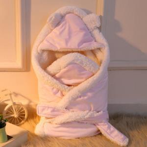 倍呵 婴儿秋冬加厚羊羔绒抱被 80x80cm59元包邮(需用券)